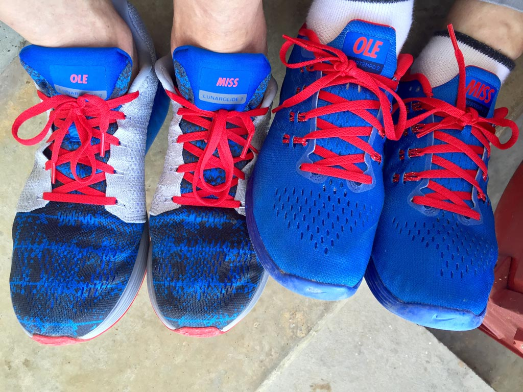 Chancellor Vitter's Ole Miss sneakers